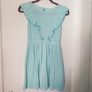 Cherokee Girls Dress Sz L, Blue